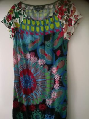 Desigual Tunic T-shirt Top Size Small