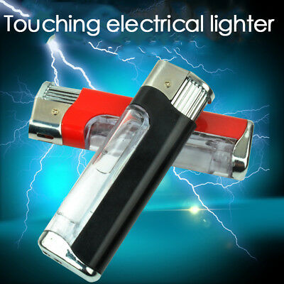 Shock Lighter April Spoofing Fooling Friends Disposable None Real Lighter Tool