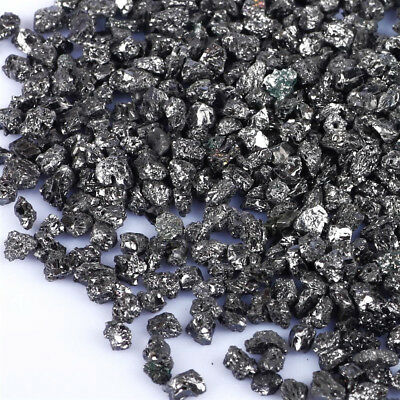 Uncut Unfinished South Africa Mines Zet Black Diamond Rough Small Specimens Lot
