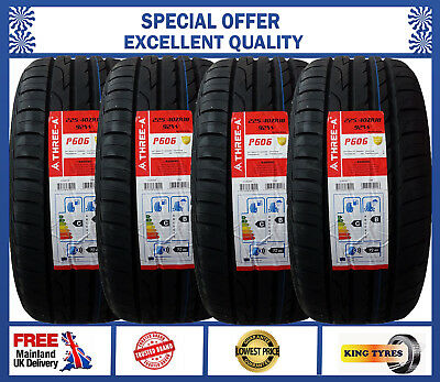 1,2,3,4 x 225/40ZR18 92W THREE-A excellent TYRE NEW TYRE'S HIGH PERFORMANCE TYRE
