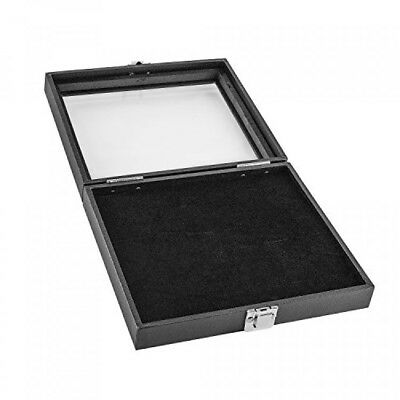 Black Wooden 36 Slot Ring Storage Box Display Case for Home Storage, Jewelry