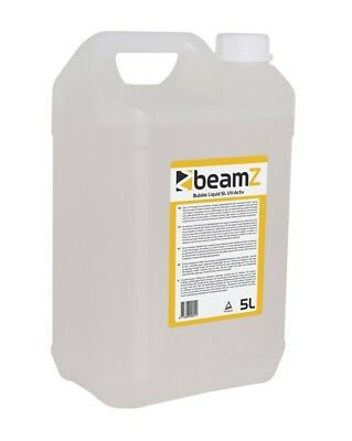 BEAMZ BUBBLE LIQUID UV-ACTIVE - Liquido Bolle Fluorescente 5lt
