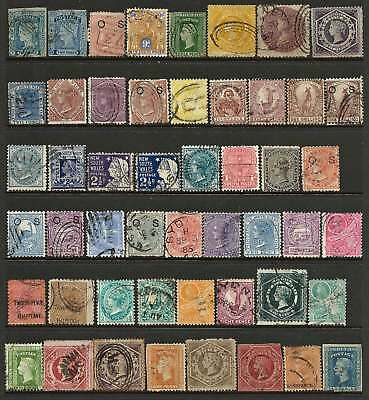 NEW SOUTH WALES a GOOD RANGE / SELECTION mixed condition many sound used (50)