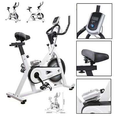 Bicicletta indoor spinning regolabile display LCD volante inerzia adjustable AY