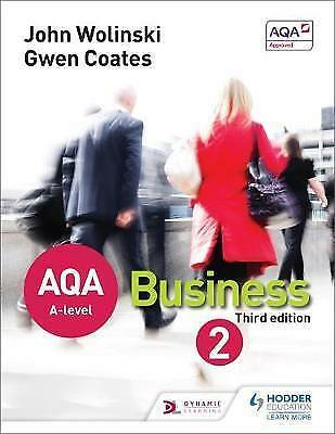 AQA A Level Business 2 by Gwen Coates, John Wolinski (Paperback, 2015)