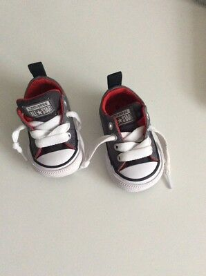 baby boys converse trainers size 2