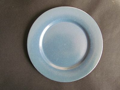 Vintage Plate Saturday Evening Girls SEG  Paul Revere Pottery Plate Blue 8 1/2""