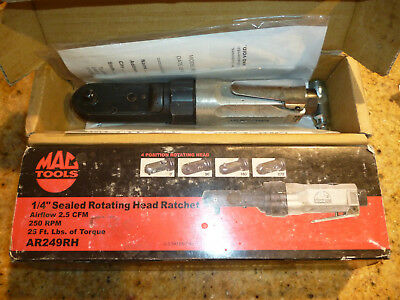 "Mac Tools 1/4"" Air Ratchet AR249 Tested! Works Great!"