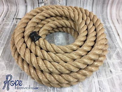Synthetic Manila, Decking Rope, Garden, Decoration Rope, 48mm x 5 metres