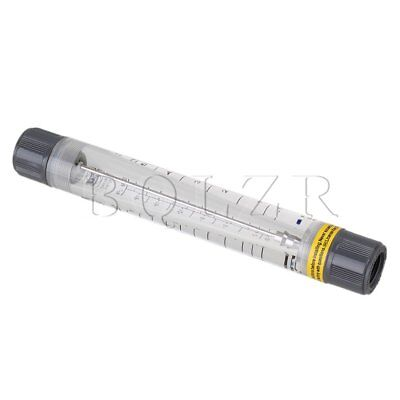 "0.5-5 GPM /1.8-18 LPM Water Tube Design Liquid Flowmeter Measure 1/2"" FNPT Input"