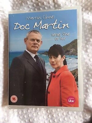 Doc Martin Dvd Box Set Series 1 To 6 new