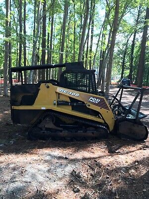 2007 ASV Rc-100 Skid Steer High Flow , Mulching Head , Bobcat , Fecon