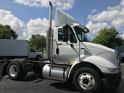 2012 International 8600 Day Cab Single Axel Truck 540K 10 Speed Eaton Fuller 2DR
