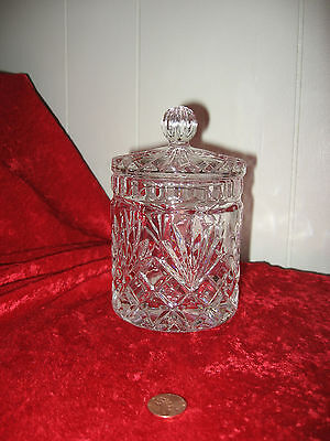Older  Cut Glass Covered Candy Dish