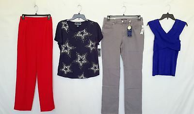 Wholesale Lot of 37 High End Womens Apparel Clothing Mixed Brands New Manifested