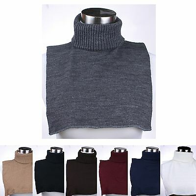 Turtle Neck Dickey Inner Sweater Warm Neck for Winter For Men and Women