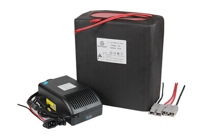 72V 30ah Lithium Li-ion Battery Pack  for 2200W E-Bike Scooter + 5A Charger BMS