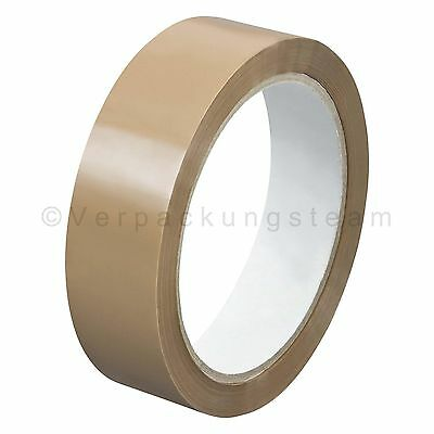 ( eur. 0,01/M) Tape Packing Tape Narrow opp-909nn 25 mm x 66 M Low Noise Brown