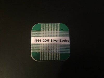 1 x Mixed Roll of 20 - ***1986-2005*** BRILLIANT UNCIRCULATED 1 oz Silver Eagles