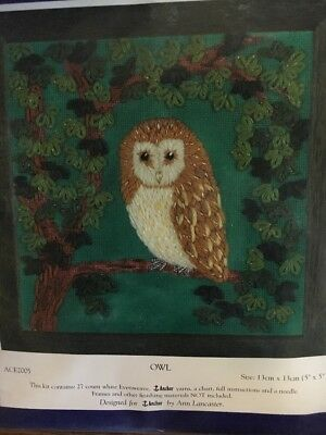 Anchor Embroidery Kit - Owl