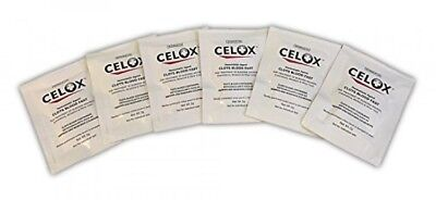 CELOX Traumatic Wound First Aid Packets, 6 Count