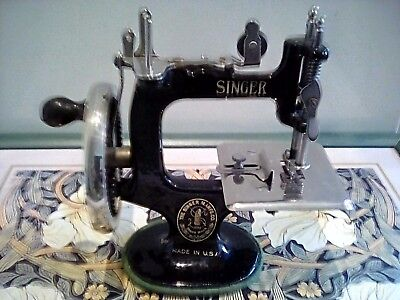 A Singer sewing machine for the girls.