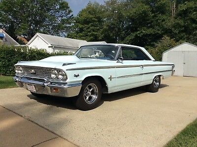 1963 Ford Galaxie 500 XL 1963 1/2 FORD GALAXIE 500 XL 2 DOOR FASTBACK COUPE