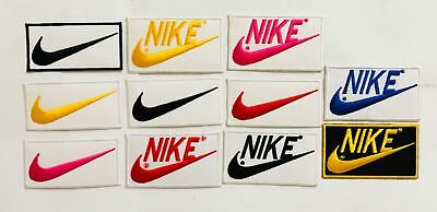 Nike embroidered iron on sew on patch badge logo sports 274,275