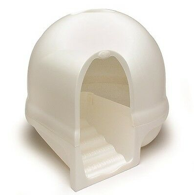Booda Dome Cleanstep Hooded covered cat kitten litter tray litter box