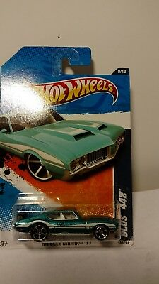 HOT WHEELS 2011 Muscle Mania Olds 442 109/244