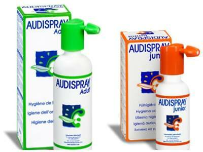 AUDISPRAY Adults/Junior -Ear Hygiene Care Ear Wax Removal 100% Natural Spray
