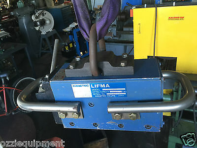 KANETEC Permanent Magnetic Lifma with V Bottom LPF-20VA