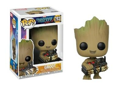 Funko Pop! Guardians of the Galaxy: Vol 2 - Groot with Bomb #263 2017 Exclusive