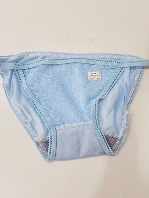 1 Pair of Vintage Nylon Knickers Size 34/36 Hips