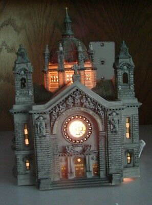 Dept 56 Christmas In The City- Cathedral Of St. Paul 58930 - Rare-Retired