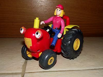 Tractor Tom. Tom And Fi Plastic Toy
