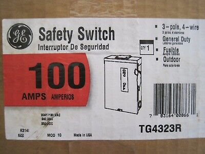 Ge Tg4323R 100Amp Safety Switch