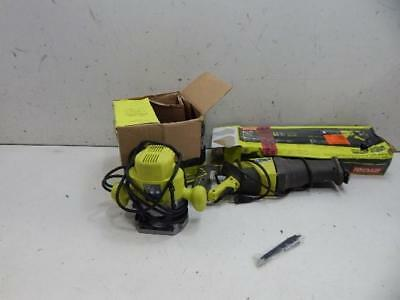 Ryobi Corded Reciprocating Saw & Plunge Router Power Tools	704316	A26