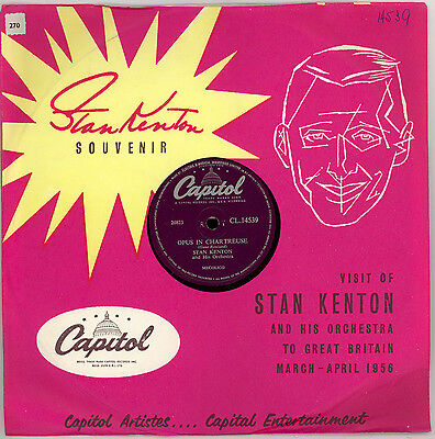 3x STAN KENTON IN GREAT BRITAIN 1956, Sunset tower u.a. Titel; Orig.Cover Set439