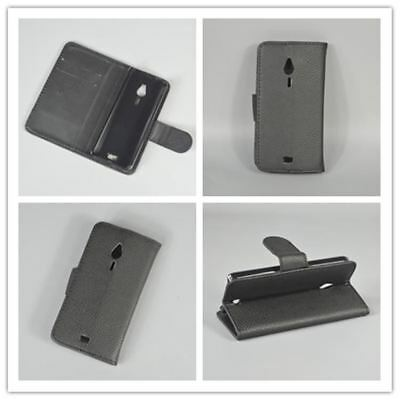 For Nokia 230 Luxury Leather Case Cover Stand Function With 2 Card Holder Sale