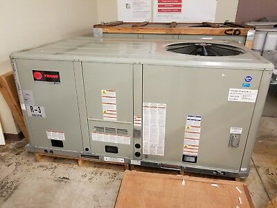 Trane 4 Ton Convertible Rooftop Gas/electric Ac 15 Seer 208-230/60/3