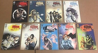 Sin City: Hell and Back # 1 2 3 4 5 6 7 8 9 Complete Series Run Lot 9 Books