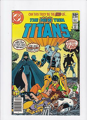 The New Teen Titans #2 1st Appearance of Deathstroke High Grade Original Owner