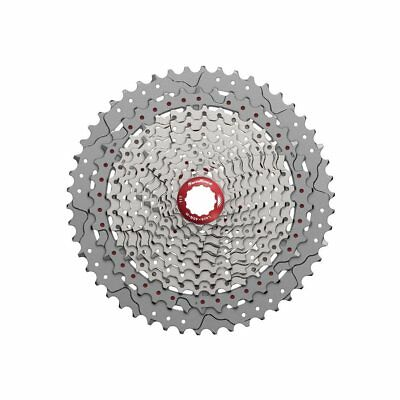 Wide Ratio Mtb cassette sprocket MX80 EA5 11 speed 11-50T silver SUNRACE bike SP