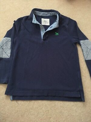 Boys Mini Boden Long Sleeve Top Age 5-6