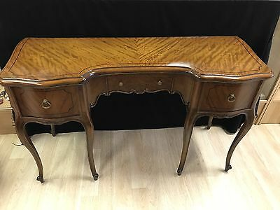 Bethlehem Furniture Co. Antique Mahogany 3 Drawer Desk And Chair