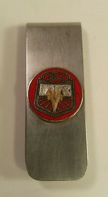 Vintage Antique Ford BREAK THE BARRIER Money Clip Very Rare