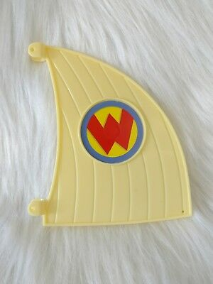Wonderpets FlyBoat Replacement Sail Part for Fly Boat Sail Only J1