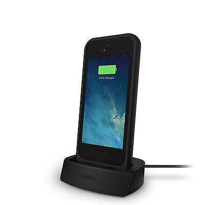 Mophie juice pack plus Battery Case & Charging Dock For iPhone SE/5s/5 (2,100mAh