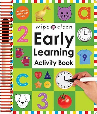 Wipe Clean Early Learning Activity Book Wipe Clean Early Learning Activity Books